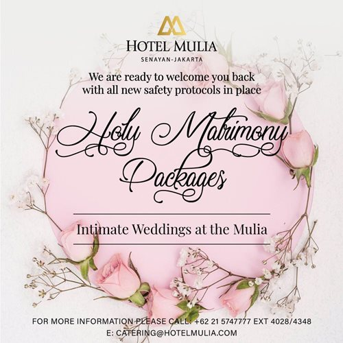 Holy Matrimony Packages